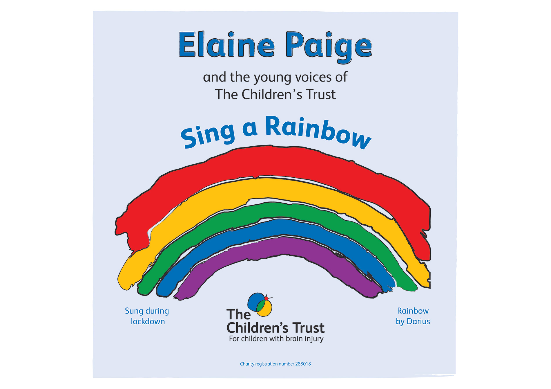 Elaine Paige and the young voices of The Children's Trust - Sing a Rainbow