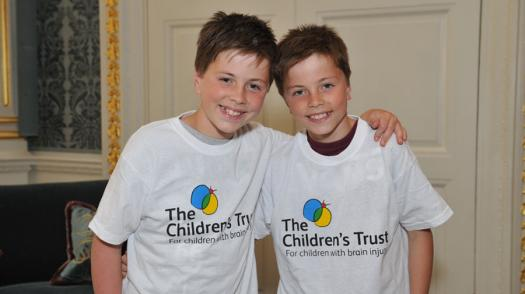 Seb and twin brother Ben