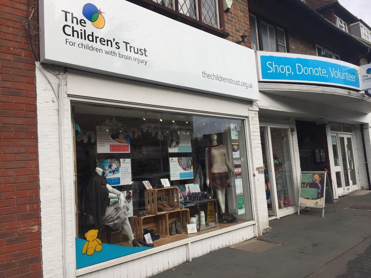 Banstead Charity Shop The Childrens Trust